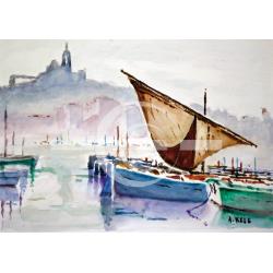bateaux vieux port marseille