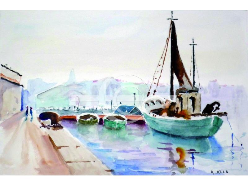 Bateaux vieux port marseille new art - Promenade bateau marseille vieux port ...