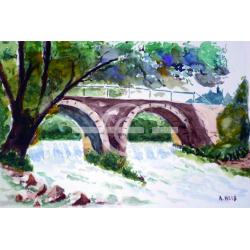 pont barrage sur l'argens 83