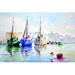 3 bateaux